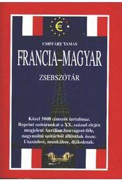 Francia-magyar zsebszótár - Régikönyvek