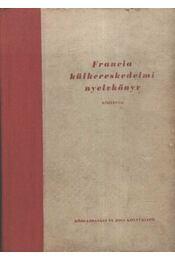 Francia külkereskedelmi nyelvkönyv - Régikönyvek