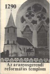 Az aranyosgerendi református templom - Régikönyvek