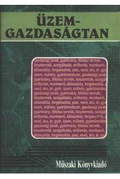 Üzemgazdaságtan - Régikönyvek