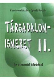 Társadalomismeret II. - Régikönyvek