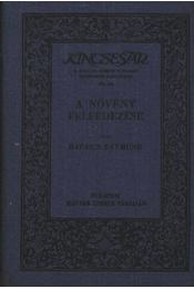 A növény felfedezése - Régikönyvek