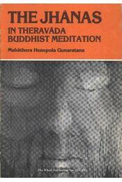 The Jhánas in theradáda buddhist meditation - Régikönyvek