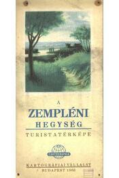 A Zempléni hegység turistatérképe - Régikönyvek