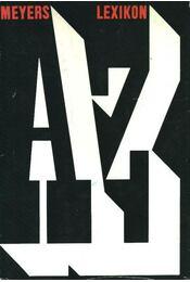 Meyers lexikon A-Z - Régikönyvek