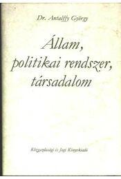 Állam, politikai rendszer, társadalom - Régikönyvek