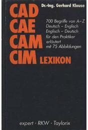 Cad Cae Cam Cim lexikon - Régikönyvek