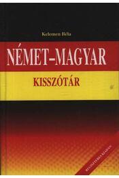 Német-magyar kisszótár - Régikönyvek
