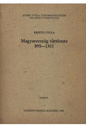 Magyarország története 895-1301 - Régikönyvek