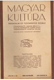 Magyar Kultúra XXII. évf. 4. sz. 1935 február 20 - Régikönyvek