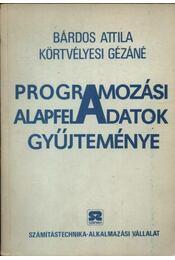 A programozási alapfeladatok gyűjteménye - Régikönyvek
