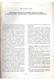 Herman Ottó és Kada Elek vitája a Kecskemét környéki pásztorkodásról - Régikönyvek