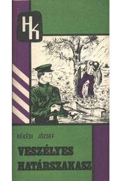 Veszélyes határszakasz I-IV. kötet - Régikönyvek