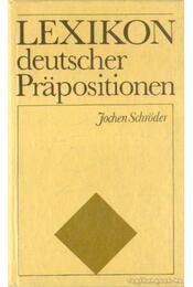 Lexikon deutscher Prapositionen - Régikönyvek