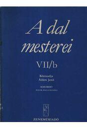 A dal mesterei VII/b. - Régikönyvek