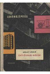 Építőipari gépek - Régikönyvek