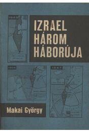 Izrael három háborúja - Régikönyvek