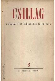Csillag 3. 1951. március-IV. évfolyam - Régikönyvek
