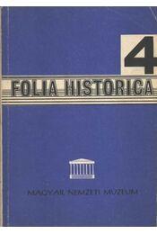 Folia Historica 4. - Régikönyvek