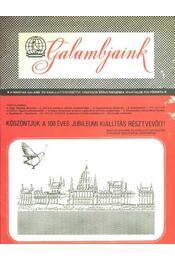 Galambjaink - Régikönyvek