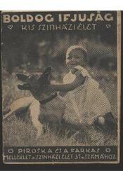 Kis Szinházi Élet 31. szám - Régikönyvek