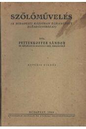 Szőlőművelés - Régikönyvek