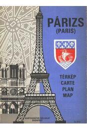 Párizs (tékép) - Régikönyvek
