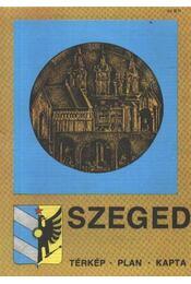Szeged térkép - Régikönyvek
