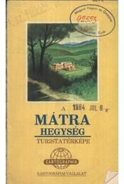 A Mátra hegység - Régikönyvek