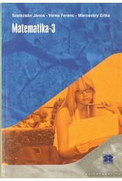 Matematika-3 - Régikönyvek