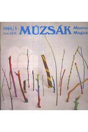 Múzsák Múzeumi Magazin 1984. évf. (teljes) - Régikönyvek