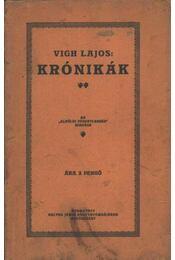 Krónikák - Régikönyvek