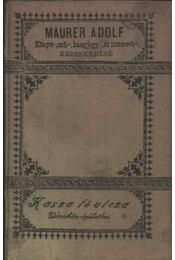 Bevezetés a minőleges vegyelemzésbe - Régikönyvek