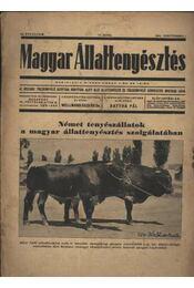 Magyar állattenyésztés 1941. szept. 1. - Régikönyvek