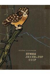 A Szovjetúnió erdeinek és hegyeinek madarai (Птицы лесов и гор СССР) - Régikönyvek