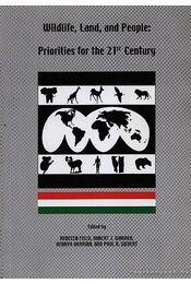 Wildlife, Land, and People: Priorities for the 21st Century - Régikönyvek