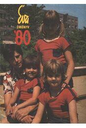 Éva évkönyv '80 - Régikönyvek