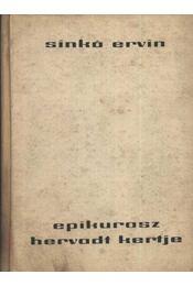 Epikurosz hervadt kertje - Régikönyvek