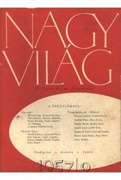 Nagyvilág 1957/2. - Régikönyvek