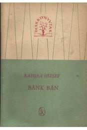 Bánk Bán - Régikönyvek