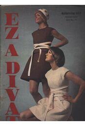Ez a Divat különszám 1969 Tavasz-nyár - Régikönyvek