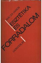 Esztétika és forradalom - Régikönyvek