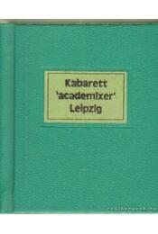 Kabarett academixer Leipzig (számozott) (mini) - Molle, Cornelia - Régikönyvek