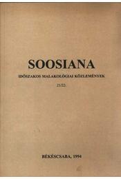 Soosiana 21/22. - Régikönyvek