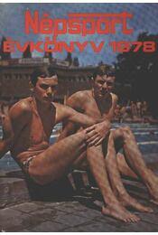 Népsport évkönyv 1978 - Régikönyvek