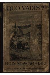 Quo Vadis - Régikönyvek
