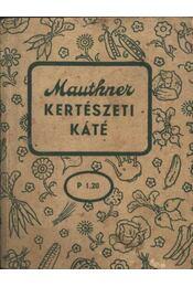 Kertészeti káté - Régikönyvek
