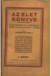Az élet könyve I-II. kötet - Régikönyvek