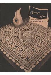 Fürge Ujjak 1962. VI. éfvolyam (Hiányos) - Régikönyvek