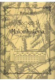 Szegedi Malomhistória - Régikönyvek
